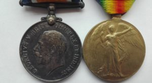 UK WW1 PAIR BWM VIC