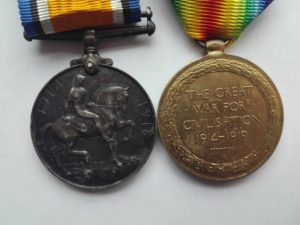 pair of medals BWM VIC