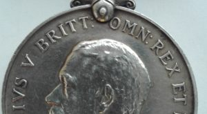 BWM obverse, ww1 british war medal