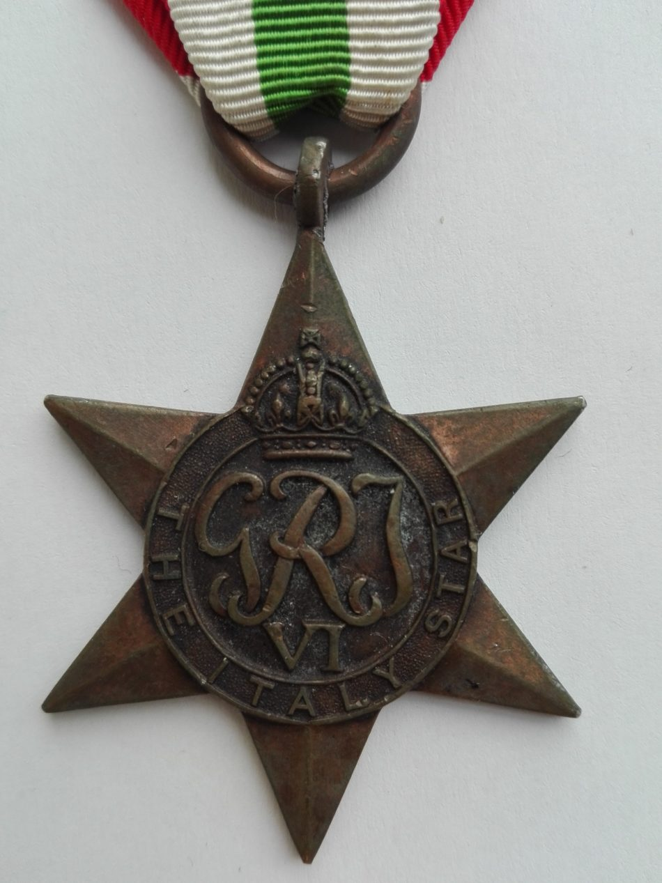 Obverse UK WW2 Italy Star