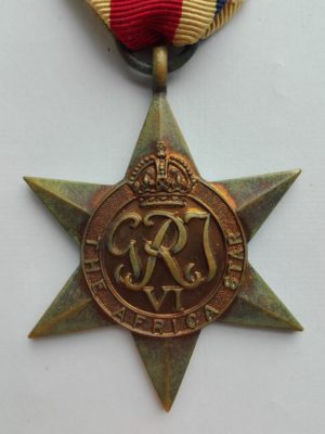 UK WW2 Africa Star