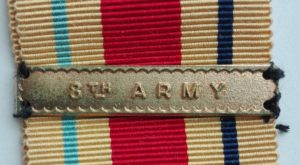 8th Army Bar to Africa star