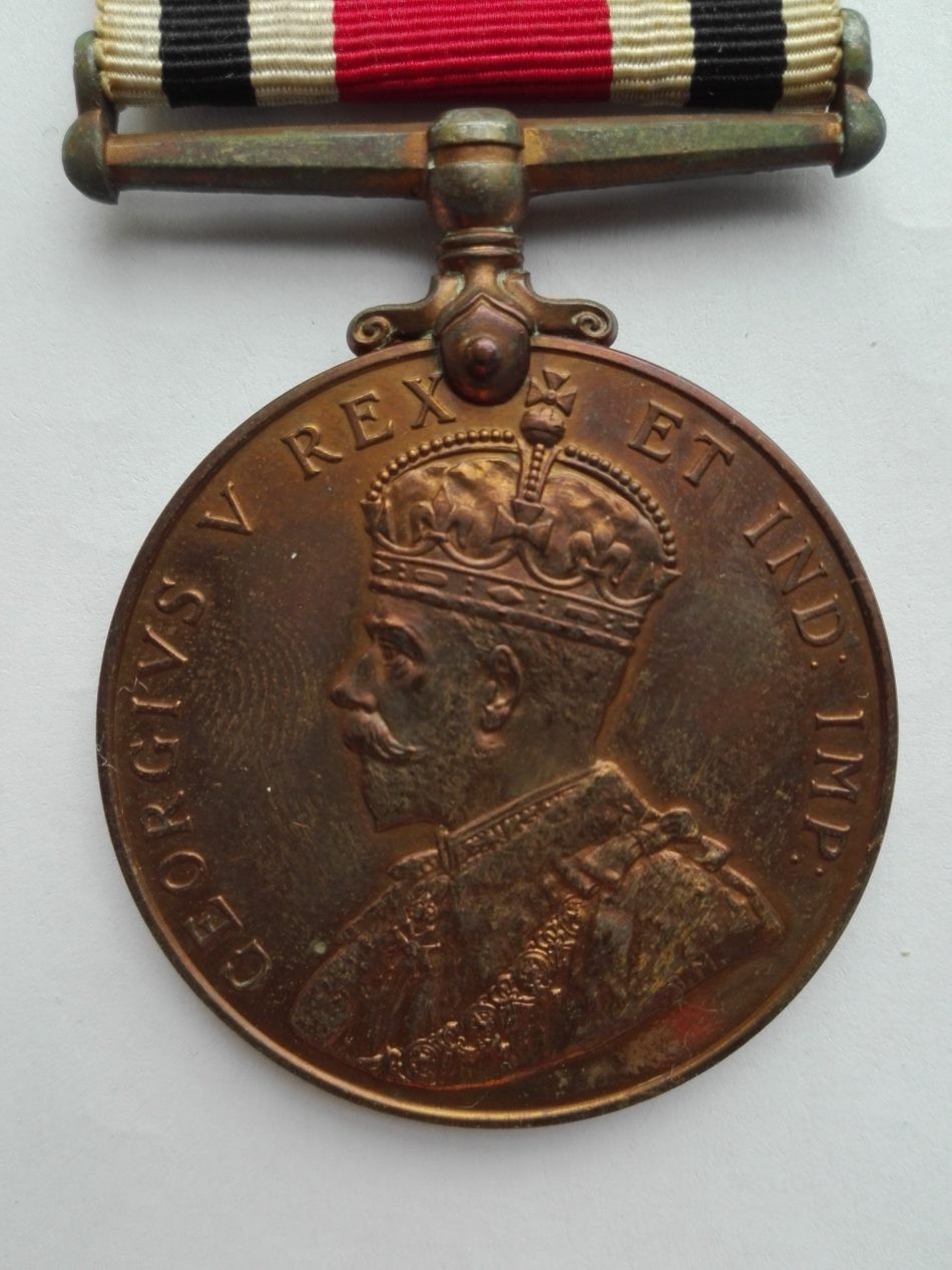 UK Police medal George 5 obverse