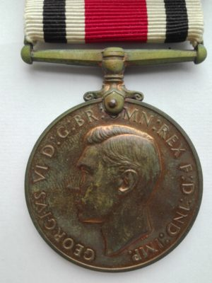 UK Police medal George 6 Obverse