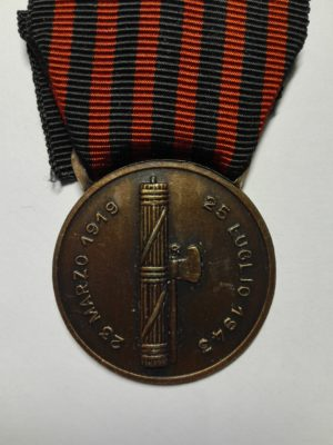 Italian medal front