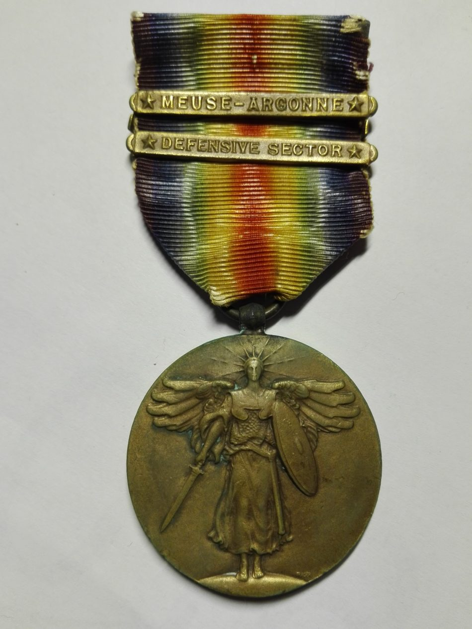 Obverse USA WW1 Victory medal