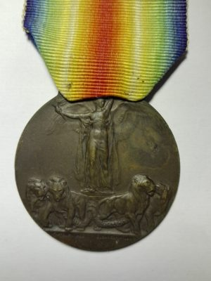WW1 Italian victory medal obverse