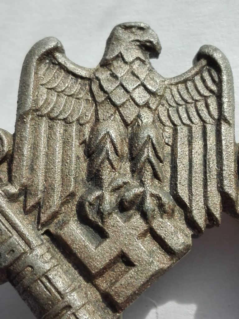 Close up of the Eagle detail
