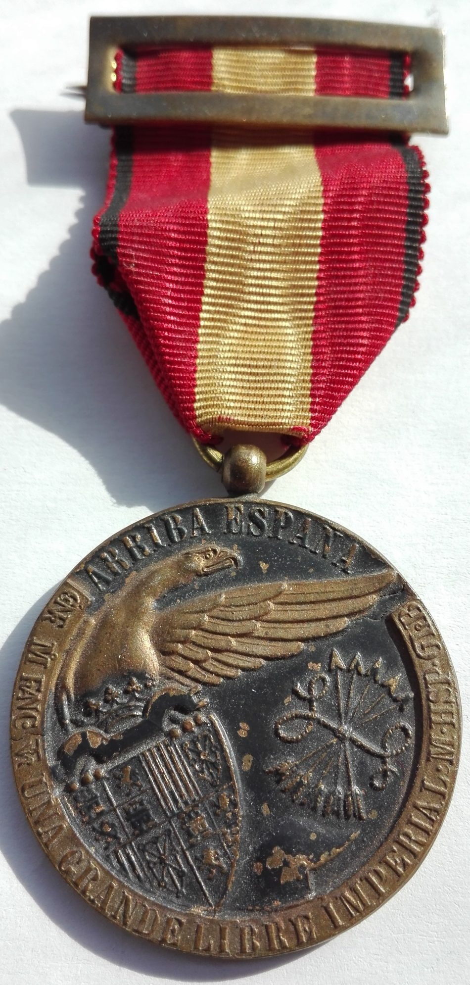 Spanish civil war medal Obverse