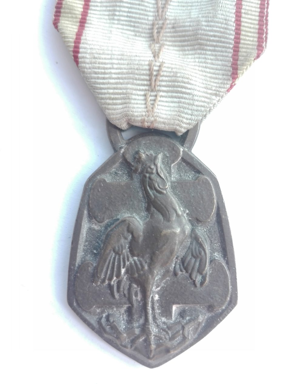 1939-1945 France commemorative medal Front