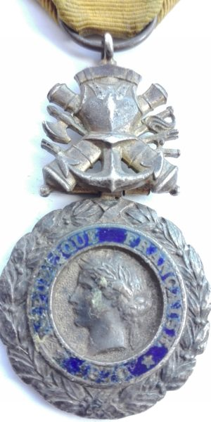 French Military medal for bravery 3rd Republic (ww1) Obverse