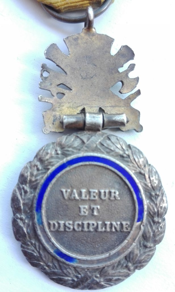 Reverse French Military medaille militaire