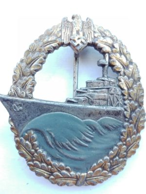 Fake WW2 German JFS Destroyer badge