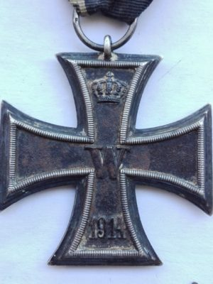 German WW1 IC2 maker mark F obverse
