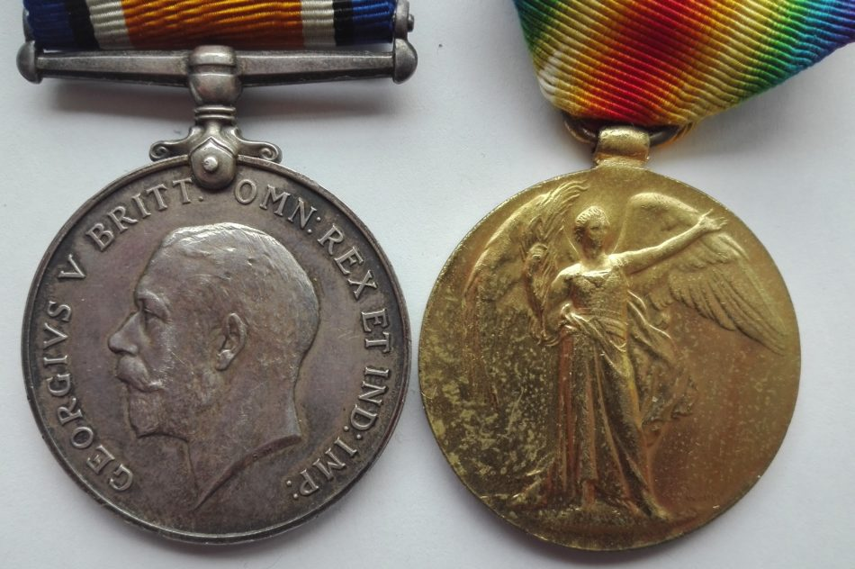Royal navy medals from WW1