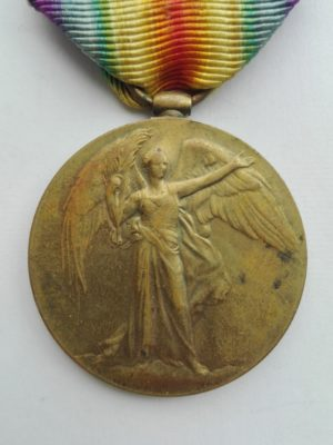 WW1 victory medal to the RAMC