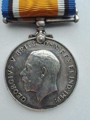 WW1 medal to the Mercantil Fleet Auxiliary