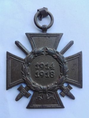 Germany War service cross for 1914 1918 combatants.