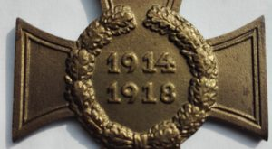 Germany WW1 war service cross without swords (ohne schwerten)