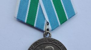 WW2 CCCP Soviet defence of the arctic medal